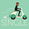 Scooter for single